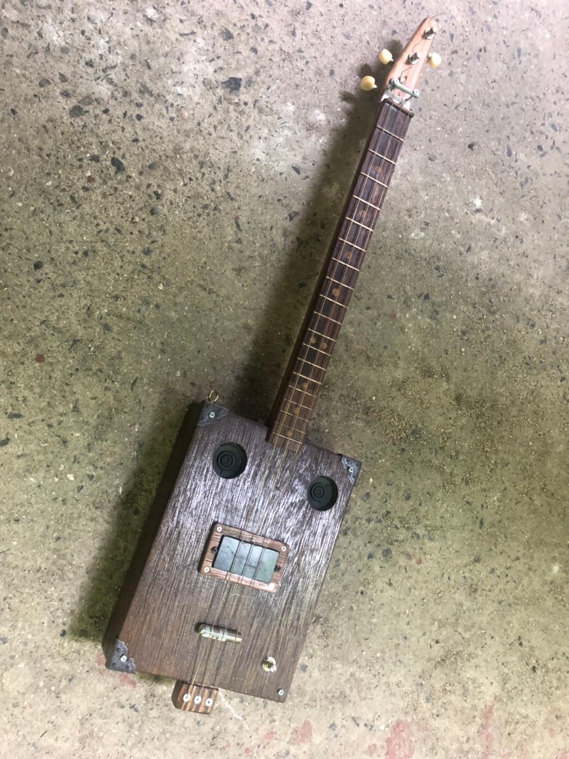 シガーボックスギター 製作企画中 @わたし雑貨店